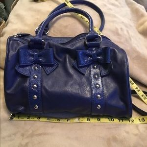 NWOT Royal Blue Bag